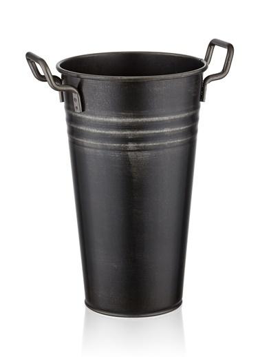 The Mia Vazo 40 Cm - Siyah Siyah